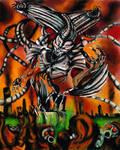 Thy God has risen / alternate Safer-Sephiroth by PhantomSephiroth