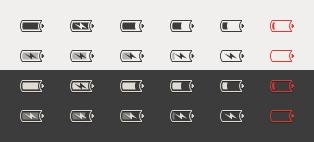 Battery mono icon by AlexEdvans