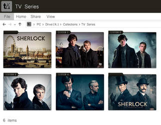 Sherlock Folder Icons by SnOwBaMboO