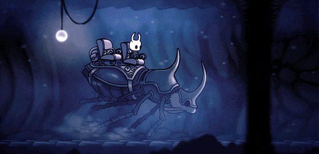 Hollow Knight: Riding the Stagways