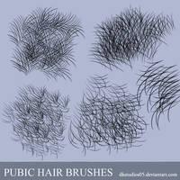 Pubic Hair Brushes by DKSTUDIOS05