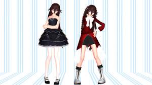 MMD Pandora Hearts Alice Model Ver.3 Dl