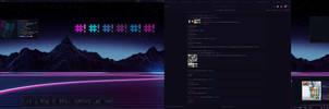 bb_neon suite // sept 2016 desk