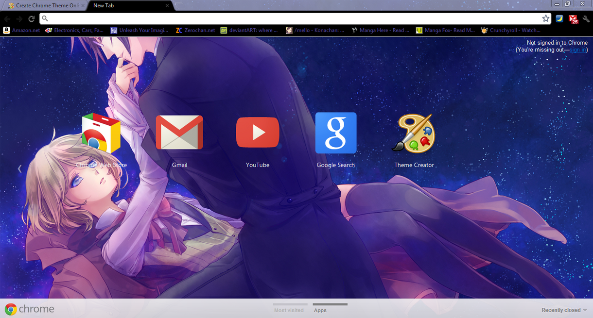 Gmail theme missing - Alois And Claude Chrome Theme By Iloveatl