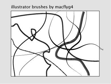 Custom Abstract Brushes by Macflyg4
