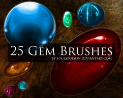 25 Gem Brushes