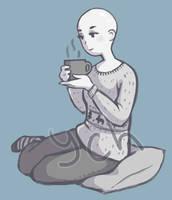 Warm tea YCH (CLOSE) by Sashka-risovaka