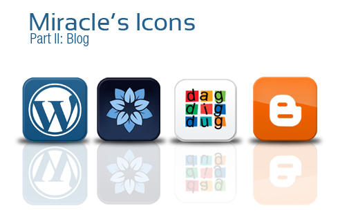 Miracle's Icons: Blogs by clouseth