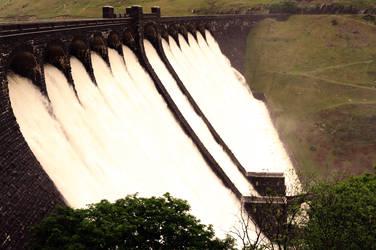 The Elan Valley Dam by Anti-Phalanx