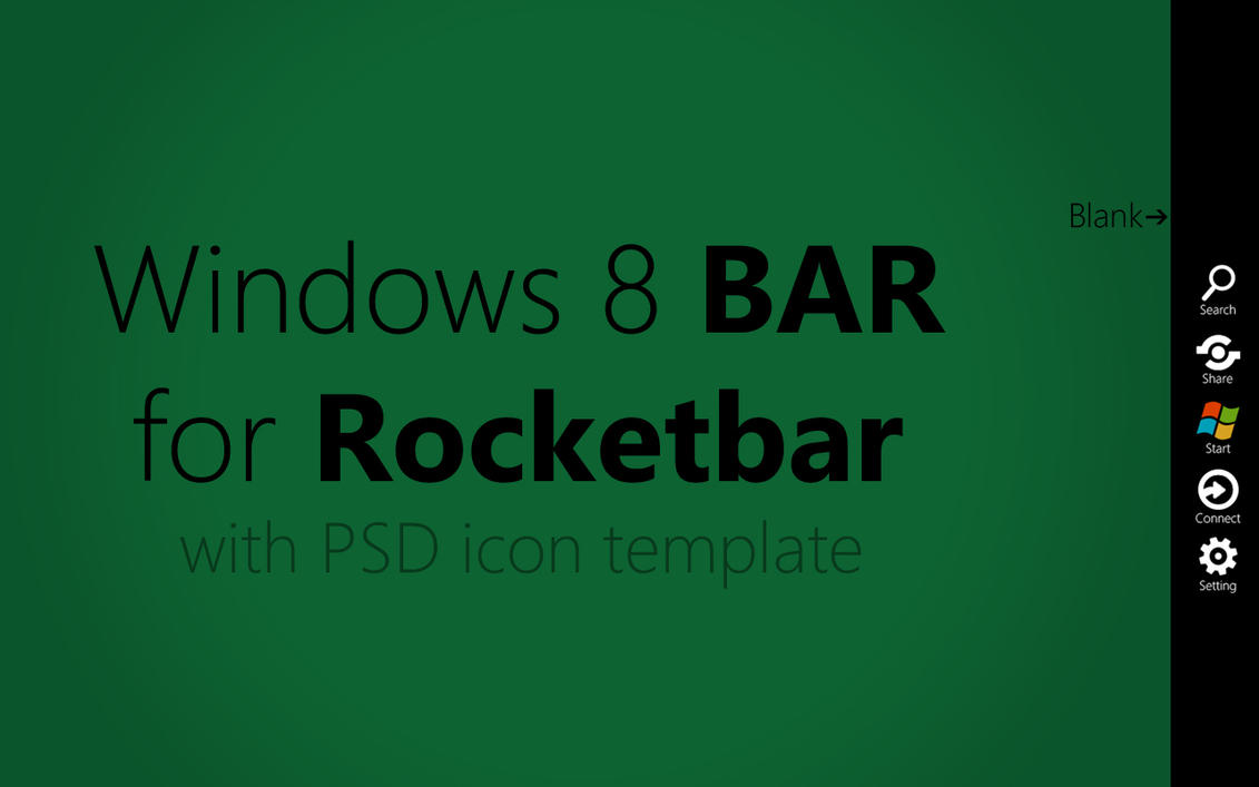 Windows 8 Bar by MetroUI