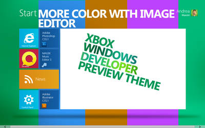 Windows Developers XBOX Theme by MetroUI