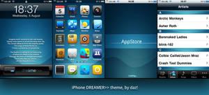Dreamer iPhone theme