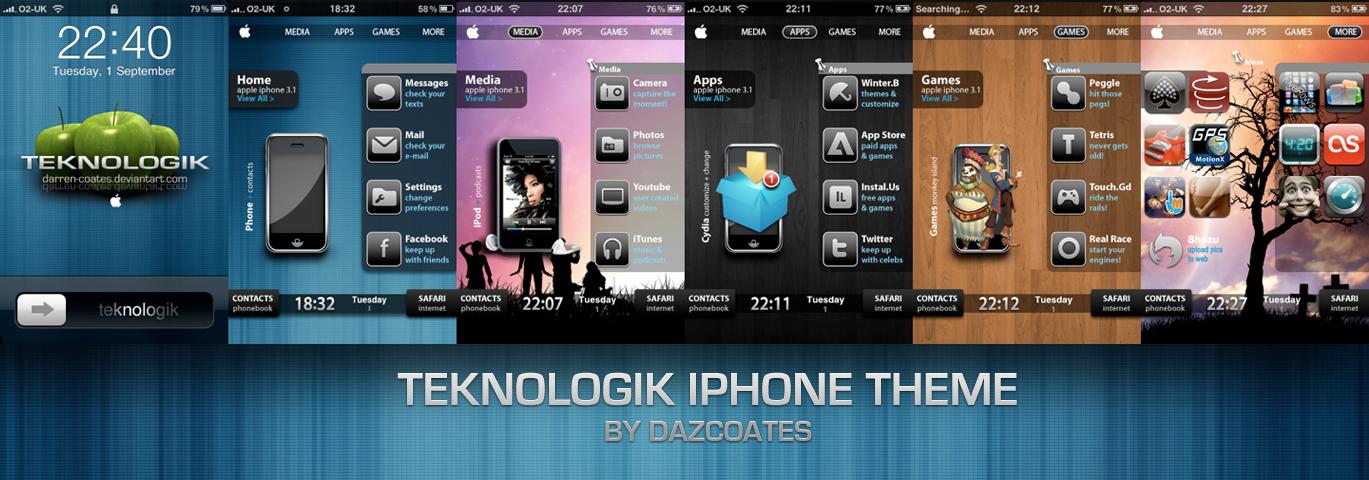 Teknologik iPhone theme by darren-coates