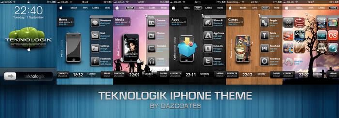Teknologik iPhone theme