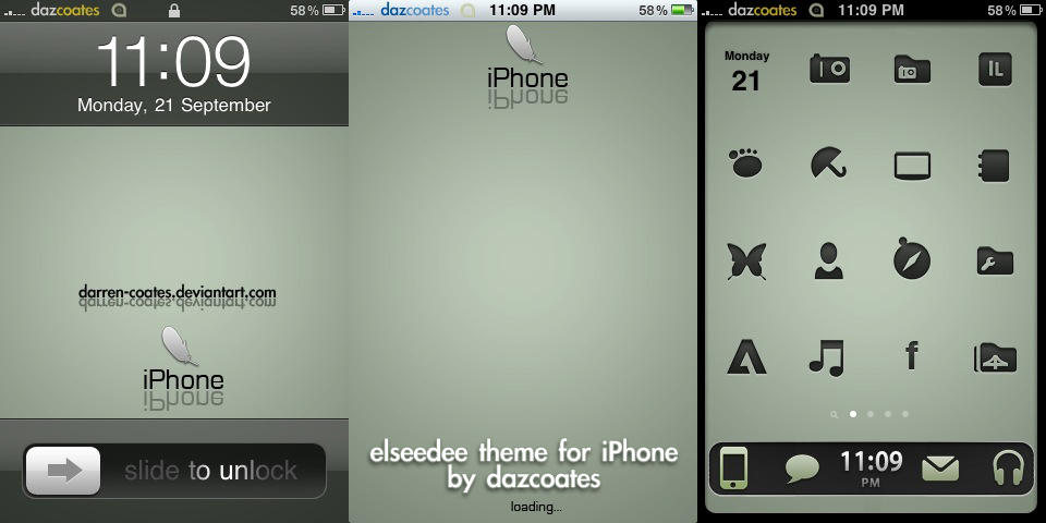 Ellseedee iPhone theme by darren-coates