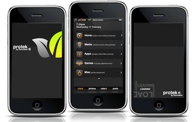 prOtek iphone theme
