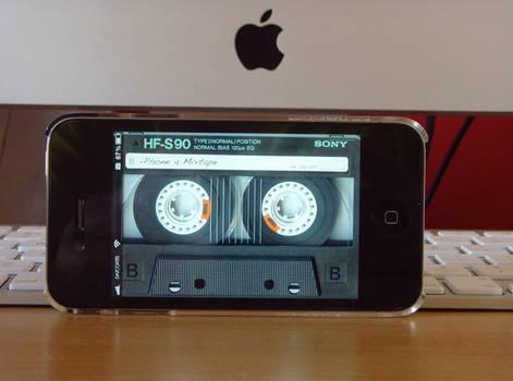 Old Skool - iPhone4 Lockscreen