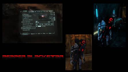 Reaper Blackstar Fallout New Vegas Mod by Nastrodamus666