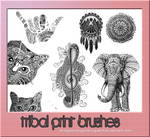{Tribal Print} Brushes