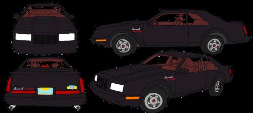 Damon's 1986 Roosevelt GTX5 Turbo Midnight