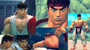 USF4 True Ryu Mod