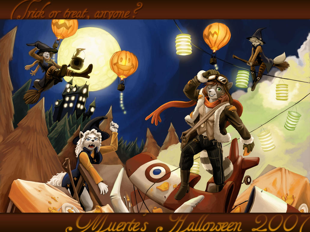 Muerte's Halloween 2007 by workshop