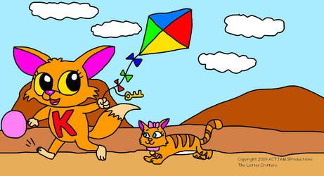 K Flies a Kite