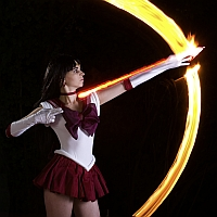 Making Of: Sailor Mars: Mars Flame Sniper (deu) by charliechappy