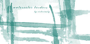 Watercolor Borders
