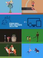 Ghibli Pixel Wallpaper Pack