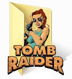 Tomb Raider Folder Icon by burtie