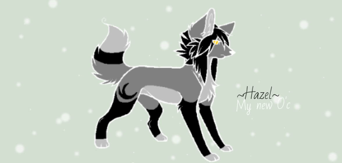 Announcing One of my new o'c Hazel~! by Firefox28286