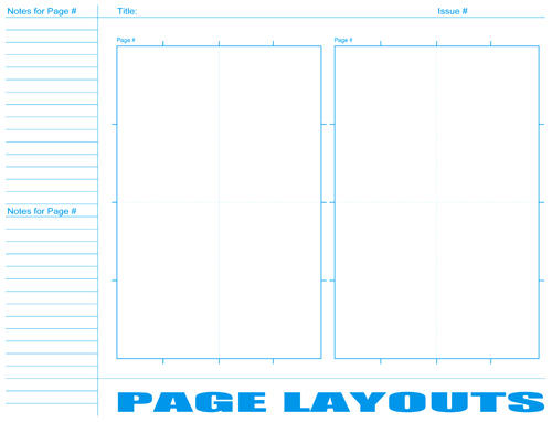 Comic Book Template Pdf | Comic Book Layout Page By Ralphcontreras On Deviantart