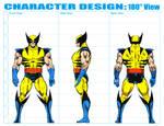 Character Design 180 Sheet