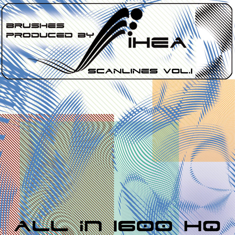 SCANLINES - ALL 1600 PIXEL HQ by IHEA