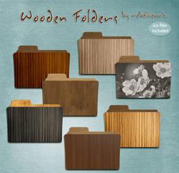 wooden folders