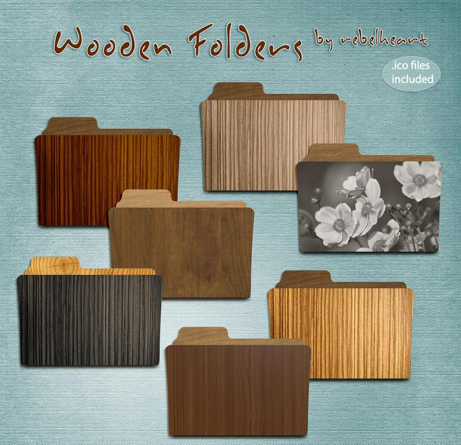 wooden folders by seven4soul