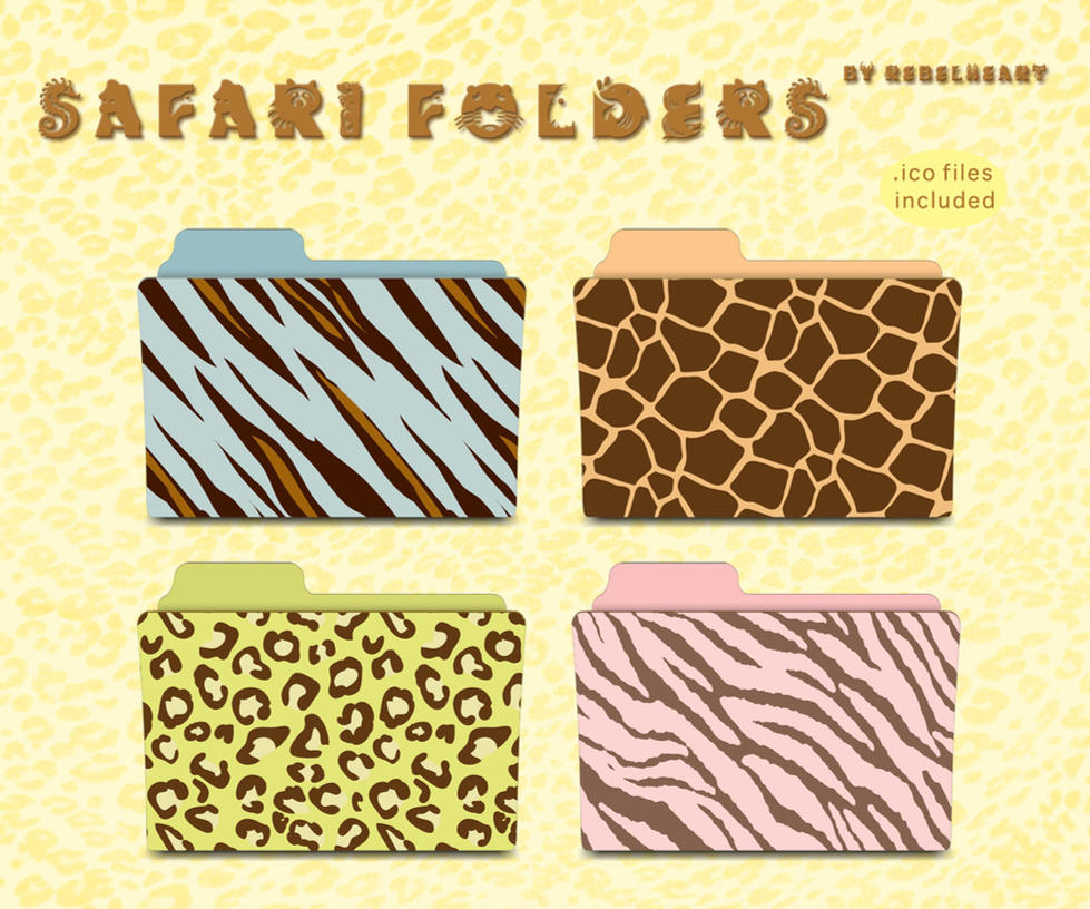safari folders by seven4soul