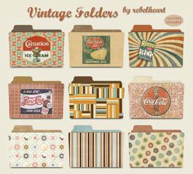 vintage folders by seven4soul