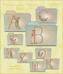 kate greenway alphabet folders