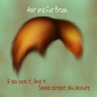 Hair and fur Brush
