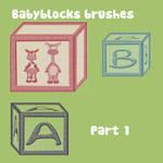 Babyblocks brushes part 1