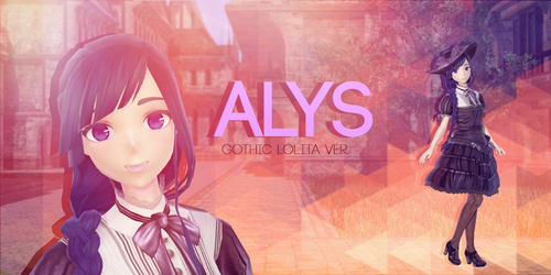 Gothic Lolita ALYS [No Download]