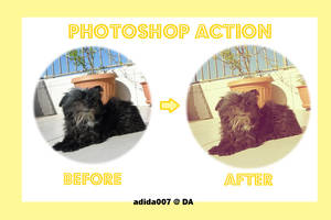 Photoshop Action: Isis by Adida007