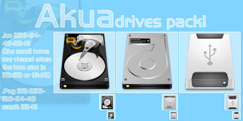 aKua Drives Pack 1
