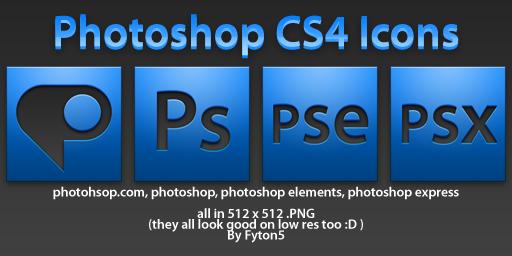 Ps   CS4 by fyton5 - Ücretsiz Photoshop Simgeleri