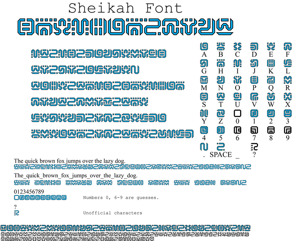 Font Where Symbols Cover The Letters Ibovnathandedecker