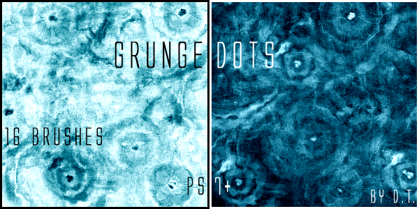 Grunge Dots by DirgeTaxidermy