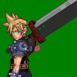 Cloud Strife by Damian2841