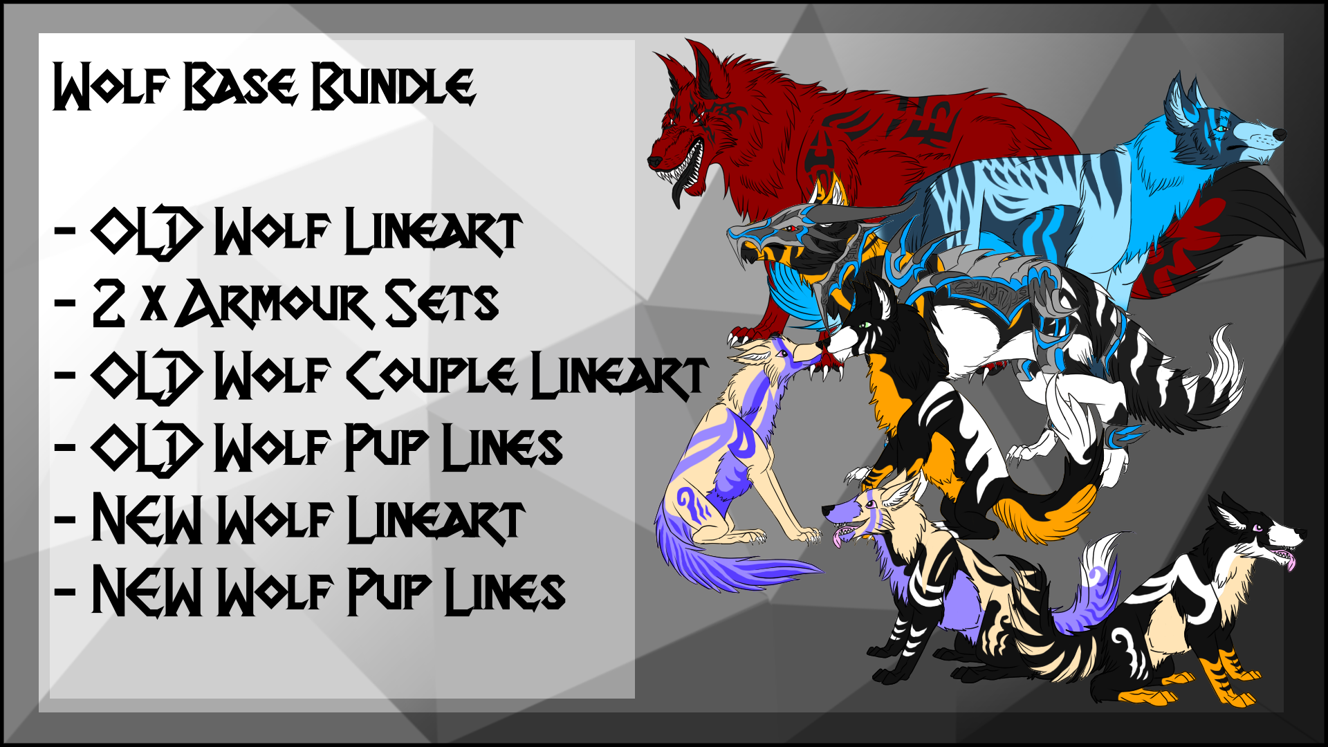 P2U Wolf Base Bundle
